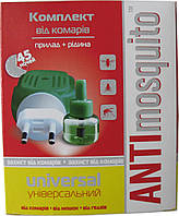 "Электрофумигатор + жидкость от комаров 45 ночей ""Anti Mosquito"", 30 мл"