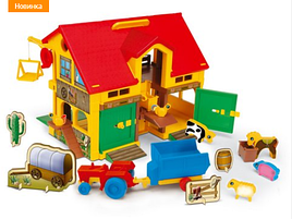Детский игровой набор домик ферма