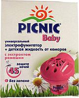 Набор Picnic Baby фумигатор+жидкость