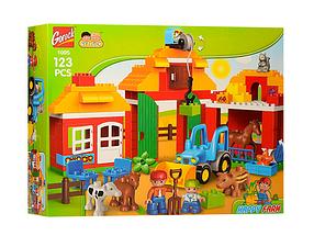 Конструктор Gorock 1005 Большая ферма (аналог Lego Duplo 10525)