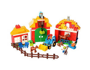 Конструктор Gorock 1005 Большая ферма (аналог Lego Duplo 10525), фото 2