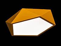 Светодиодный светильник накладной желтый 615-30, фото 1