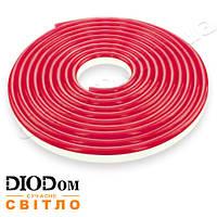 Гибкий светодиодный неон smd 3528-120 красный IP65 12V NEON