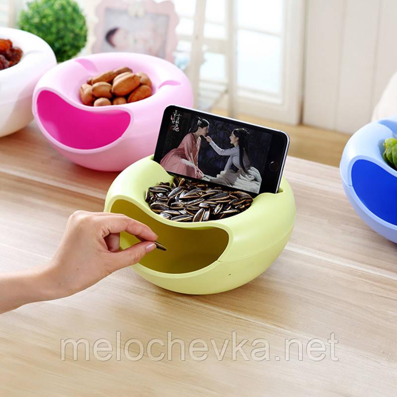 Тарелка для семечек и фруктов