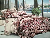 Полуторный комплект постельного белья Мостовая