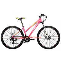 """Горный велосипед Kinetic Vesta 27.5 дюймов 15,5"""" розовый"""
