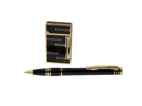 Ручка Rudi Kellner синій РШ+ запальничка Identity, фото 2