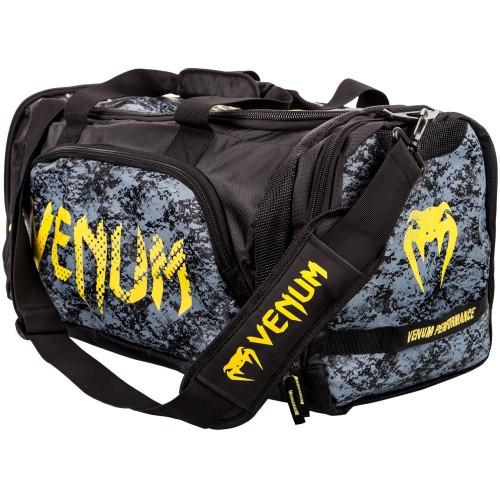 22bca5a02a42 Сумка Venum Trainer Lite Sport Bag Black Yellow (2123-BYE) — в ...