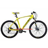 """Горный велосипед Winner Drive 27.5 дюймов 21"""" желтый"""