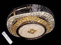 Хрустальный светильник потолочный с диммером А327-5, фото 1
