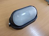 Светильник НПП1407 чёрный/овал 60Вт, фото 1