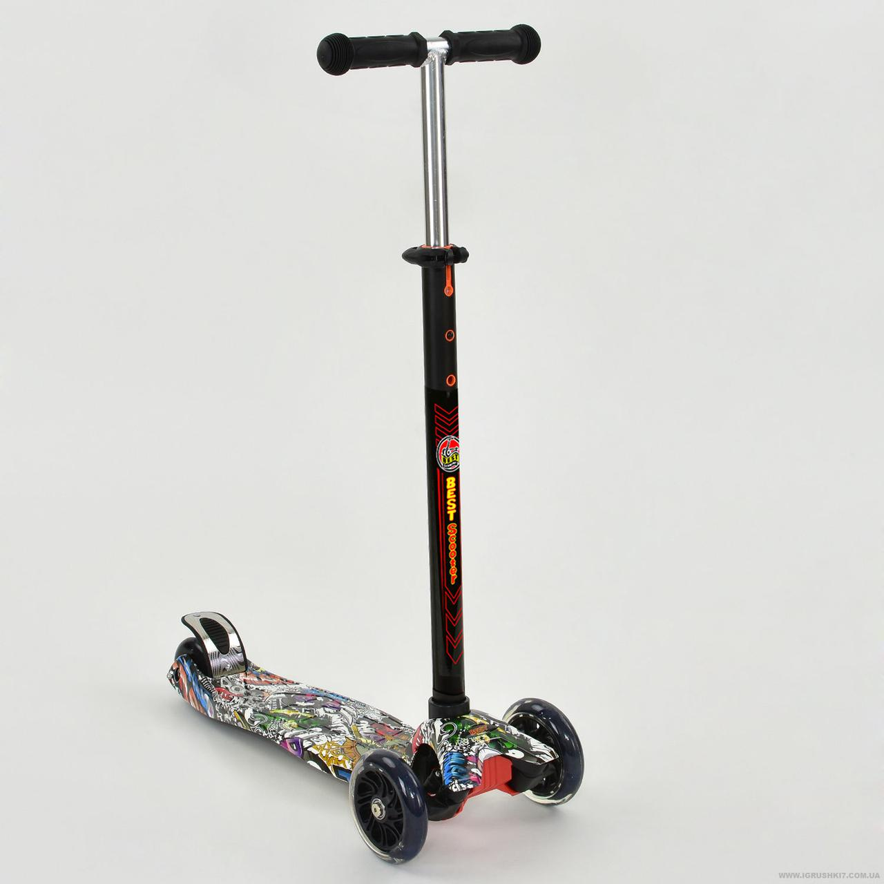"""Детский Самокат 1386 MAXI """"Best Scooter"""" 4 колеса ..."""