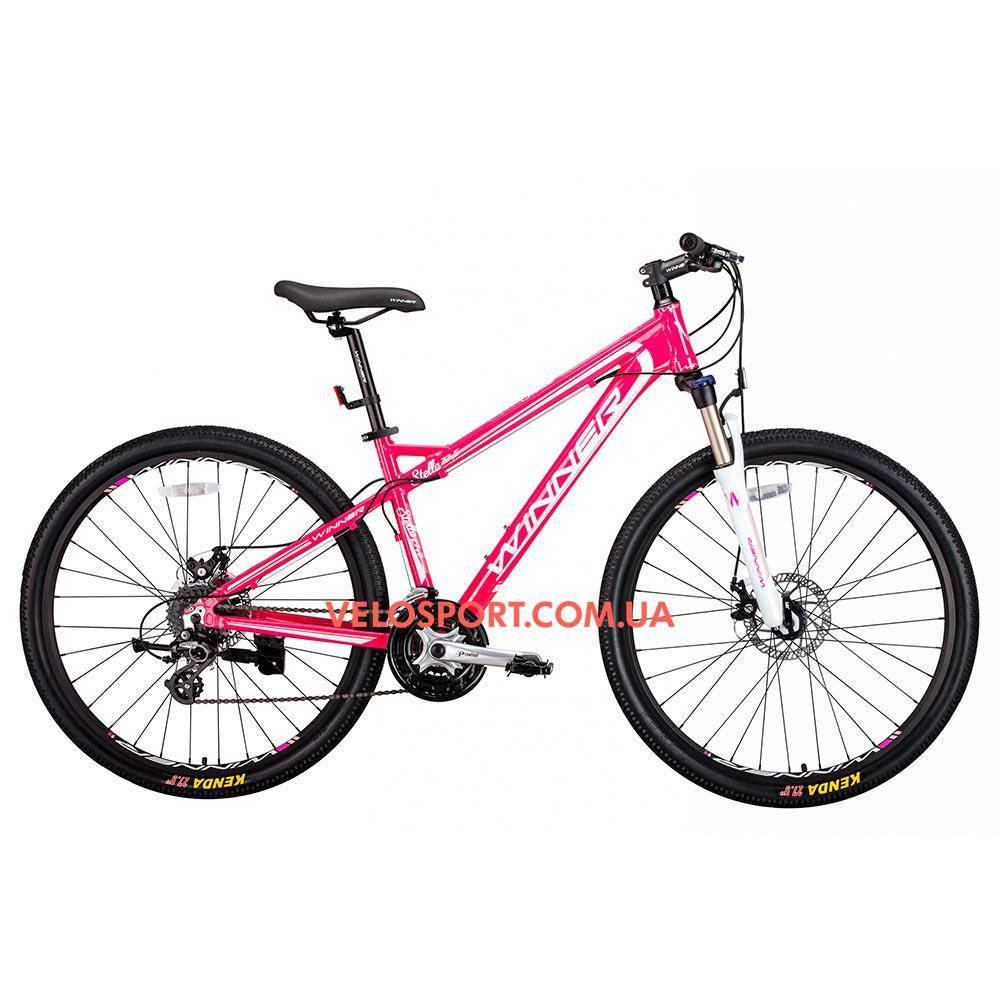 Горный велосипед Winner Stella 27.5 дюймов розовый