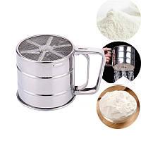 Сито-кружка для муки и сахарной пудры 100*950mm Китай - 05155