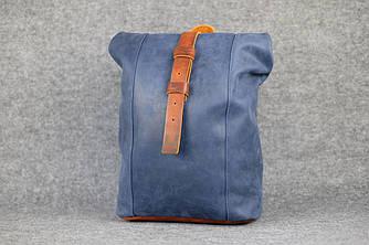 Женский рюкзак HANKLE |13022| Синий + Янтарь