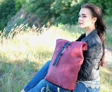 Женский рюкзак HANKLE |13021| Фиолетовый + Синий
