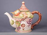 Чайник заварочный Lefard Птица на винограде 25 см 59-482