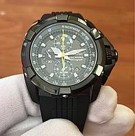 Seiko Velatura Alarm Chronograph Black-SNAE17P1
