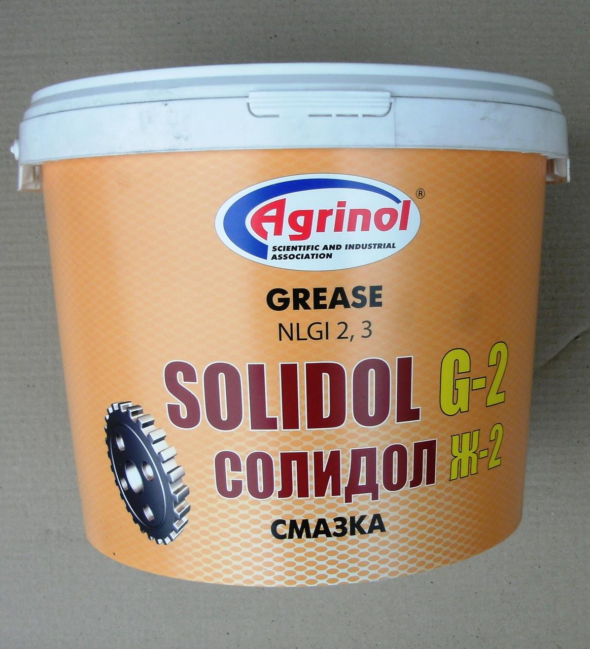 Солидол Ж-2 (9 кг)