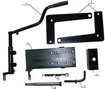 КІТ набор №3 (механическая тормозная система) 4б., фото 2