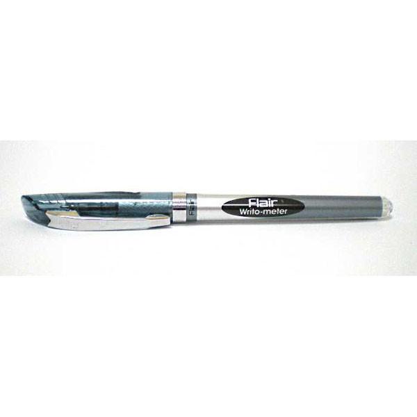 Ручка Flair 10 км масляная, черная