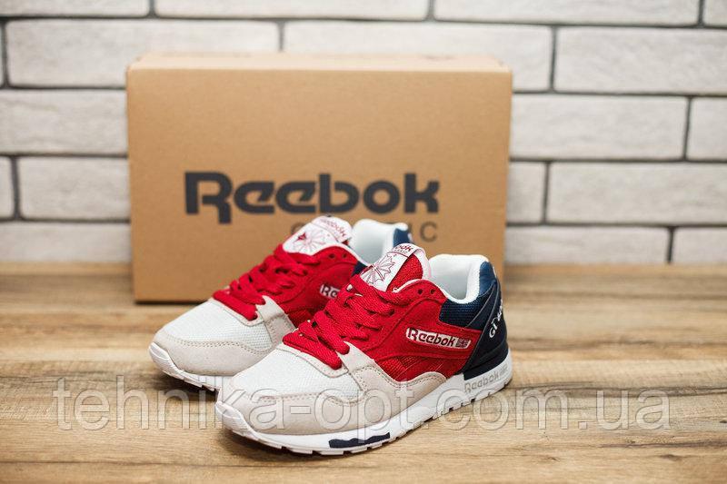 Кроссовки женские Reebok Classic GL6000 20770 рибок красные Реплика ... 20e97264348