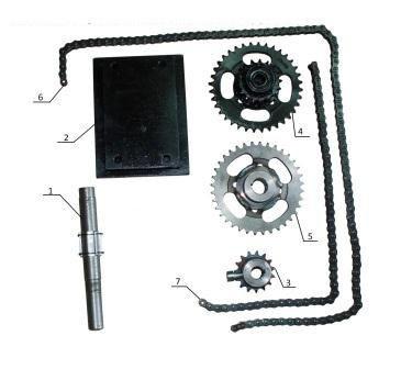 КІТ набор №3 (механическая тормозная система) 4б.