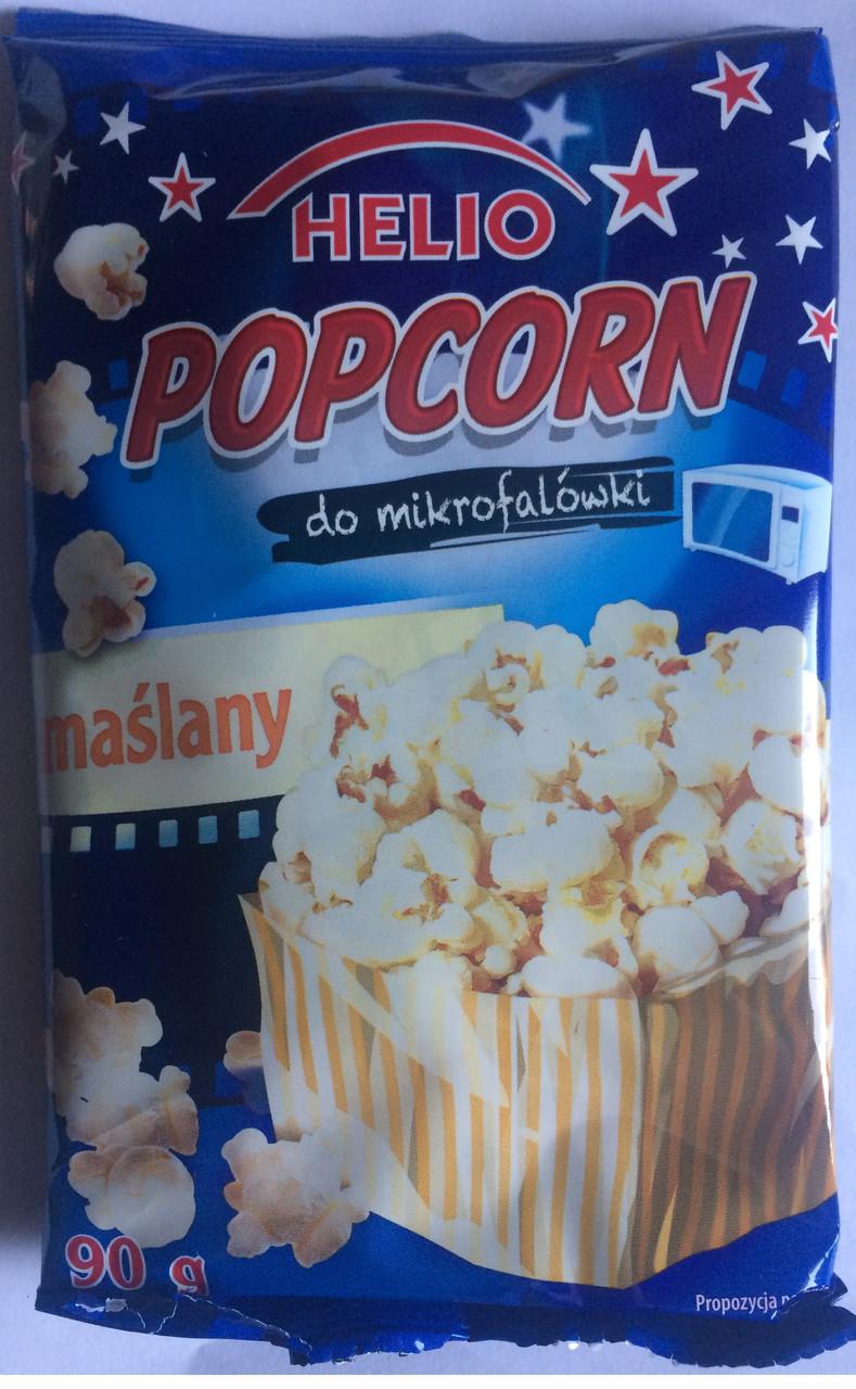 HELIO попкорн в микроволновой печи 90 гр (масло)