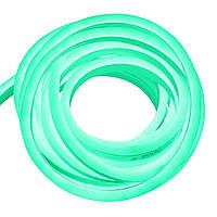 Гибкий неон 220В 2835 (120LED/м) IP67 зеленый