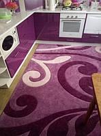 Ковер Club 2025 фиолетовый в кухне