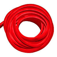 Гибкий неон 220В 2835 (120LED/м) IP67 красный