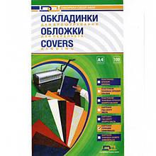 Обложки для переплета D&A BIND 10200 прозрачный А4 прозр 150мк/100шт/уп лиц стор