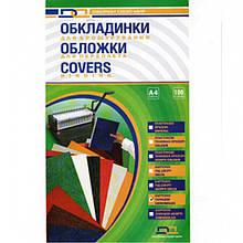 Обложки для переплета D&A BIND 10200 прозрачный А4 прозр 200мк/100шт/уп лиц стор
