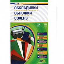 Обложки для переплета D&A BIND 10200 прозрачный А4 прозр 300мк/100шт/уп лиц стор