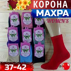 Носки женские махровые х/б Корона НЖЗ-0187