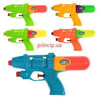 Пистолет водяной 20см, 5 цветов, М 0846