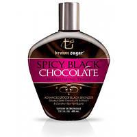 Tan Incorparated SPICY BLACK CHOCOLATE Breathtaking Tingle 200X BLACK - Крем с тинглами и бронзатами 400 мл