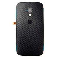 Задняя крышка Motorola XT1053 Moto X/XT1055/XT1056/XT1058/XT1060, черная