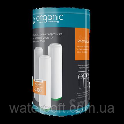 Комплект картриджів SMART EXPERT для потрійних систем очищення води Organic, фото 2