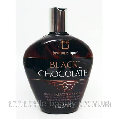 Tan Incorparated Black Chocolate 200X black bronzer - Крем для солярію Чорний Шоколад 400 мл