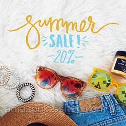 Обновите свой летний гардероб со скидкой от 20%.