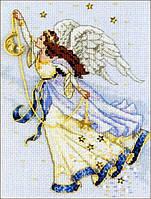 """Набор для вышивания крестом 06711 """"Ангел"""" DIMENSIONS"""