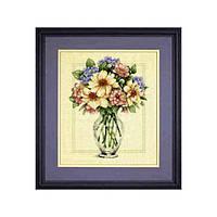 """Набор для вышивания крестом 35228 """"Цветы в высокой вазе"""" DIMENSIONS"""
