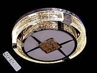Хрустальный светильник потолочный с диммером А393, фото 1