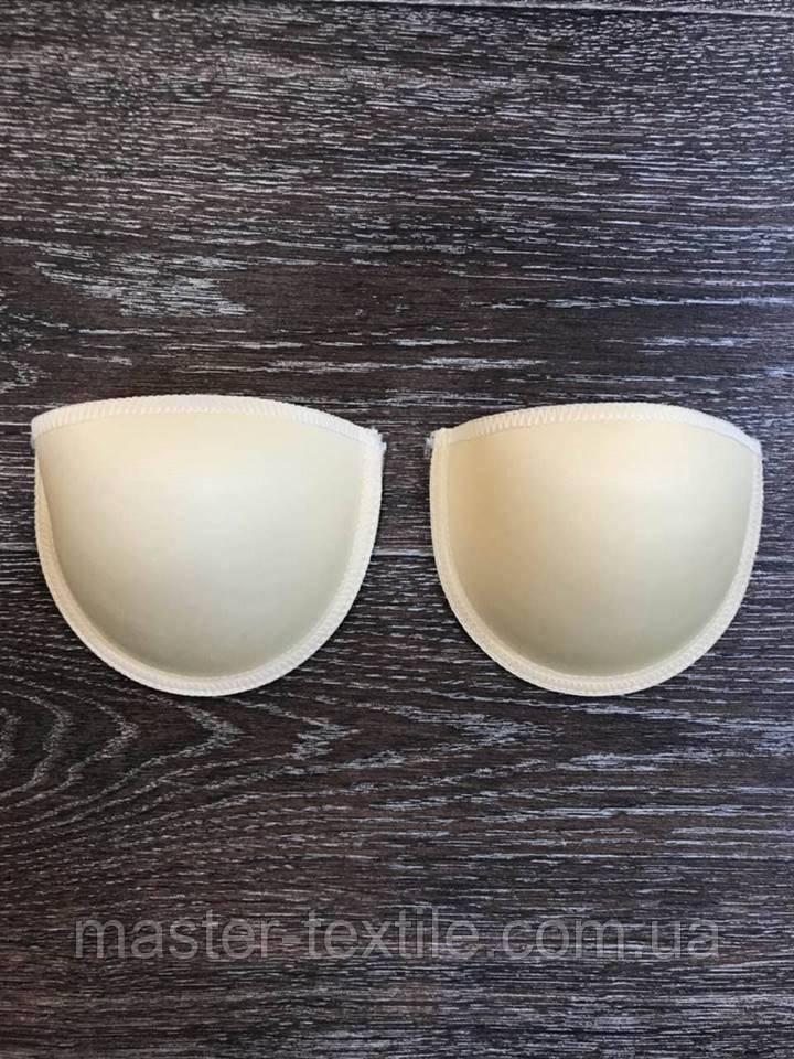 Чашечки для бюстгальтера формованная с отступом с наполнением и эффектом PUSH-UP,Size 90