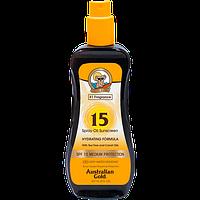 Australian Gold SPF 15 Spray Oil - Масло для засмаги на сонці c фактором захисту 15 237 мл