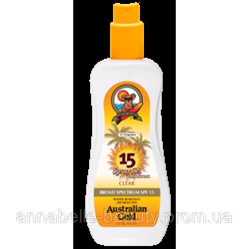 Australian Gold SPF 15 Spray Gel Спрей гель с фактором защиты 15  237 мл