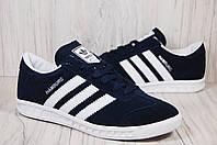Adidas Hamburg замшевые кроссовки,кеды унисекс, фото 1