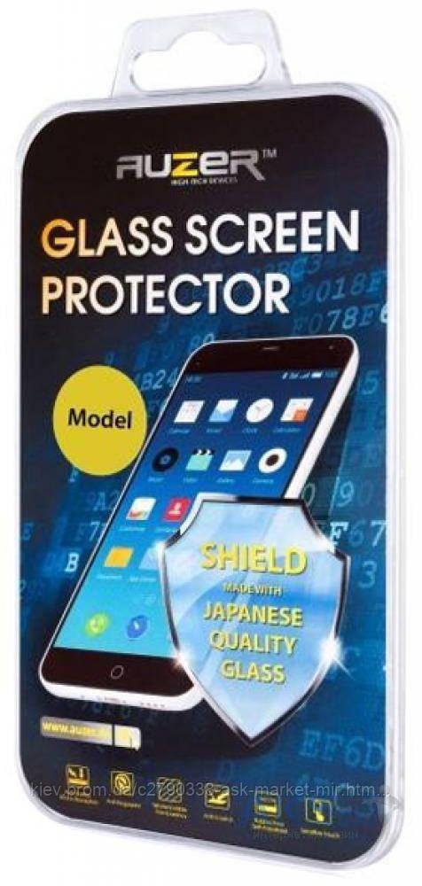 Защитное стекло Samsung J730 Galaxy J7 2017 Auzer Углы закругленные