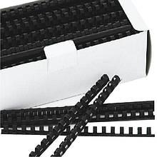 Пружина пластиковая Deli 3838 16мм/100шт/уп
